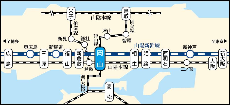 会場アクセス路線図